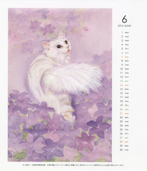 2015年6月:ララとベルフラワー花